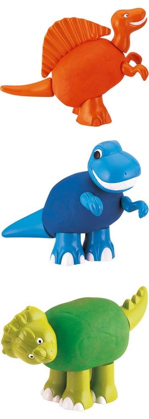 superchouette modelage dinosaures